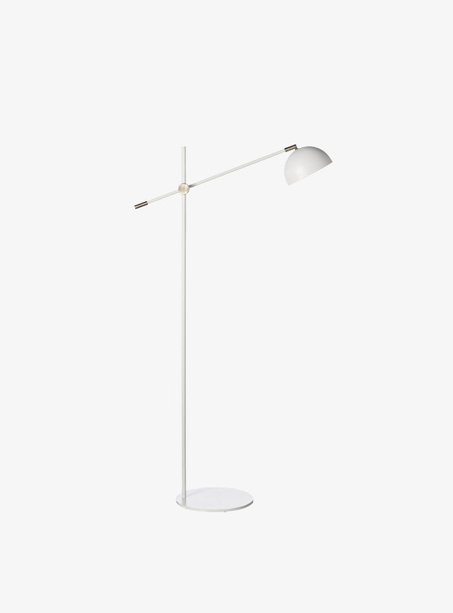 Blair Floor Lamp Warm Grey