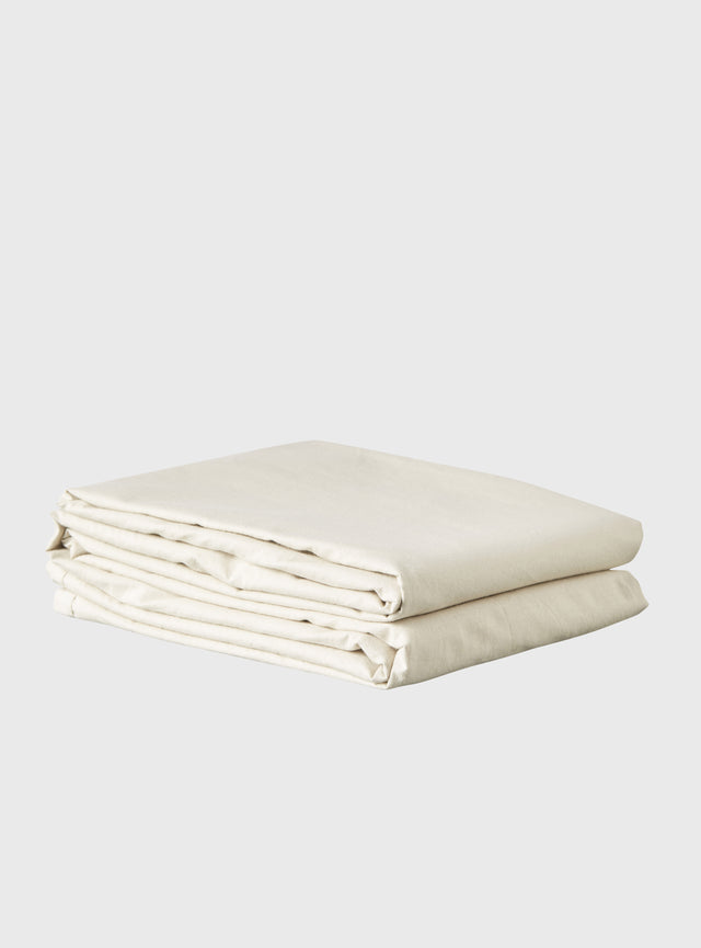 Stonewashed Sheet Set Oatmeal