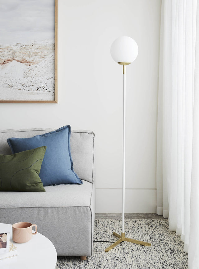 Hoytt Floor Lamp White