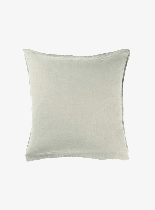 Sage Linen Euro Pillow Case Set