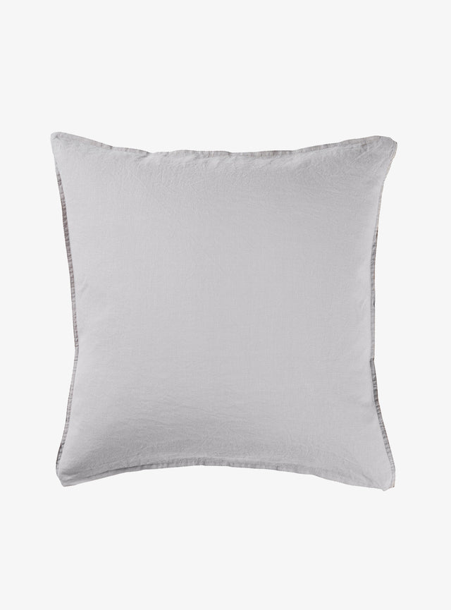 Dove Linen Euro Pillow Case Set