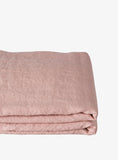 Rose Linen Euro Pillow Case Set