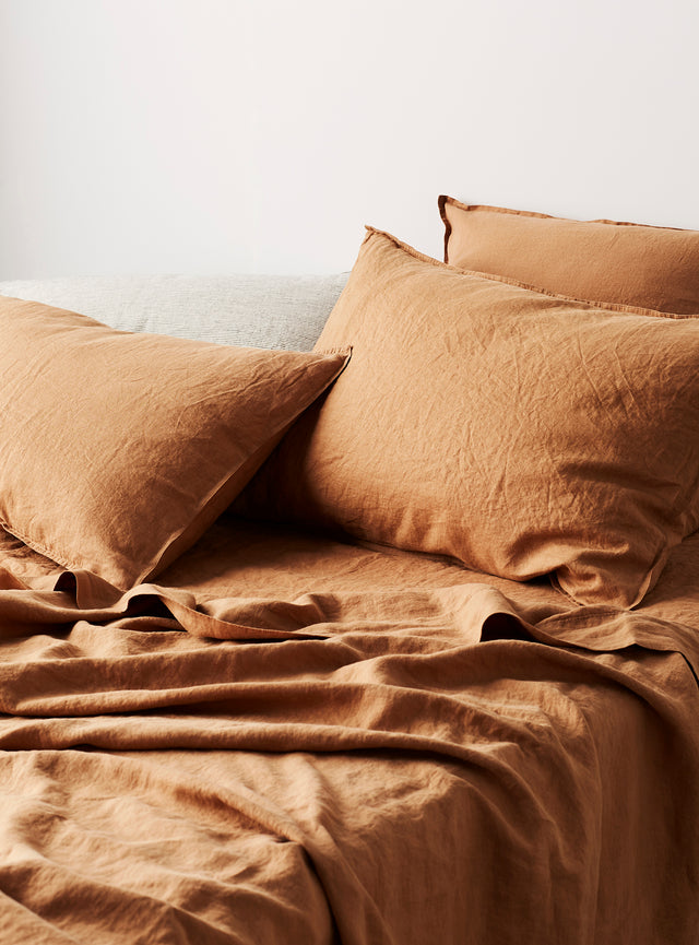 Honey Linen Flat Sheet
