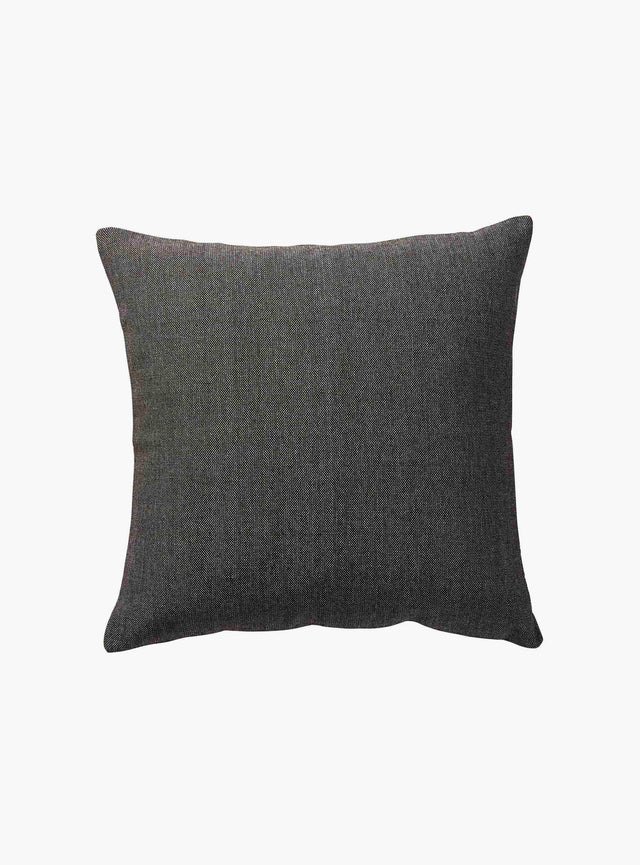 Anthracite Woven Cushion Cover 50cm