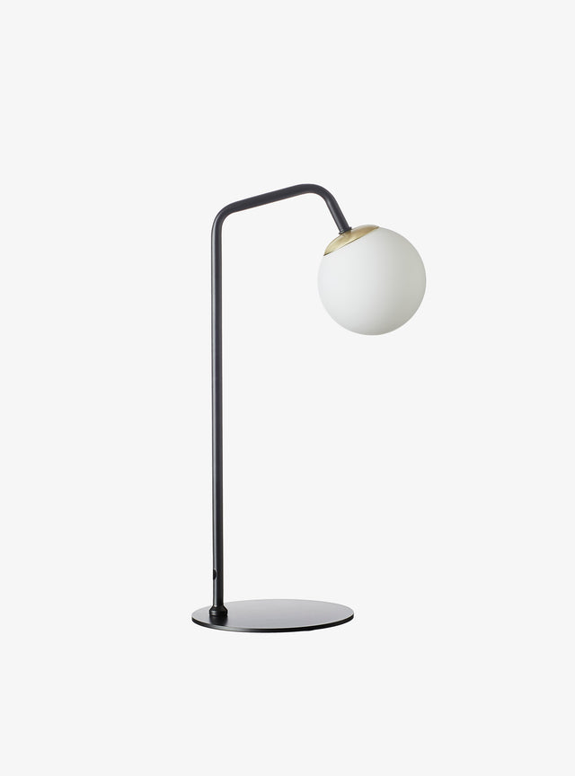 Loom Table Lamp Black