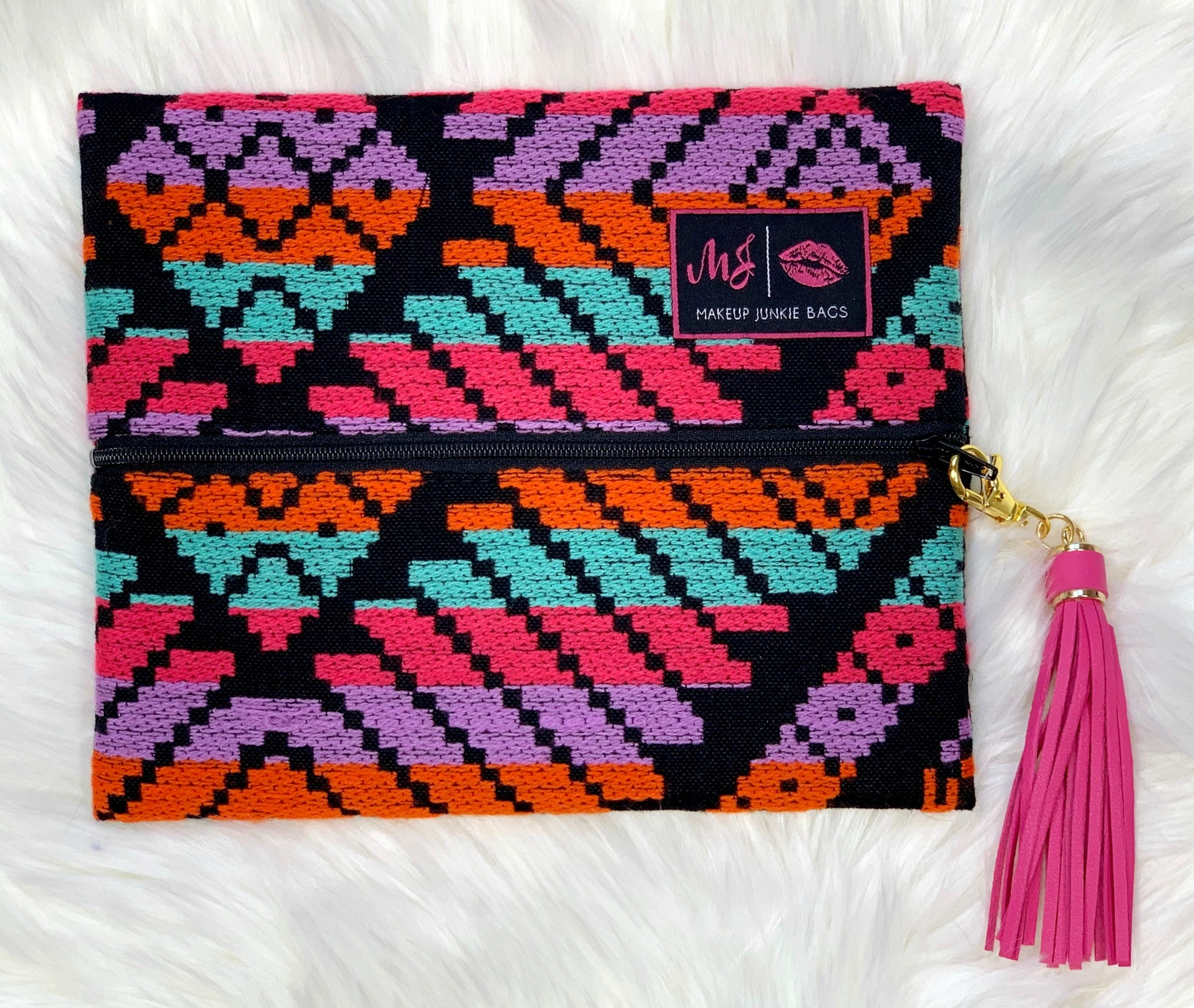 MakeUp Junkie Bags - Mayan Princess