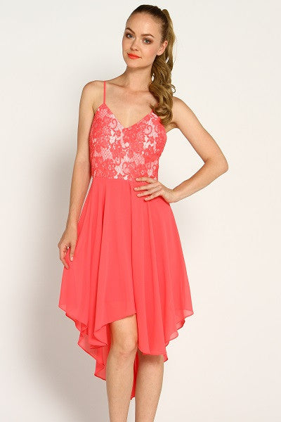 Fruit Punch Hi-Lo Dress