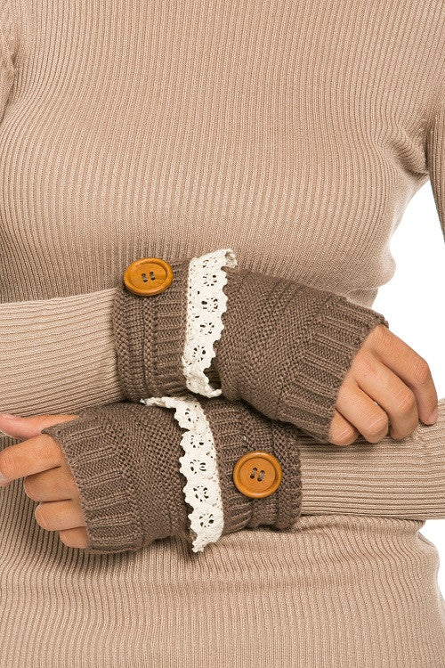 Button Hand Warmer: Multiple Colors