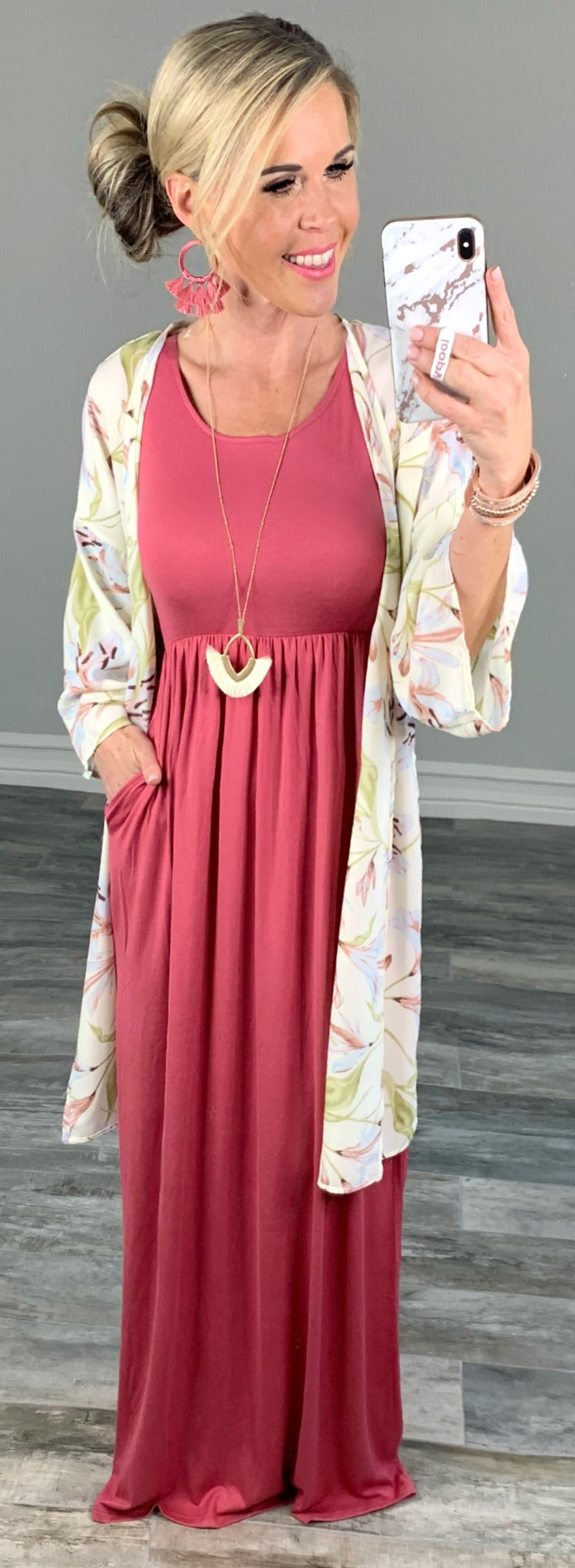 Classy as Can Be Floral Kimono