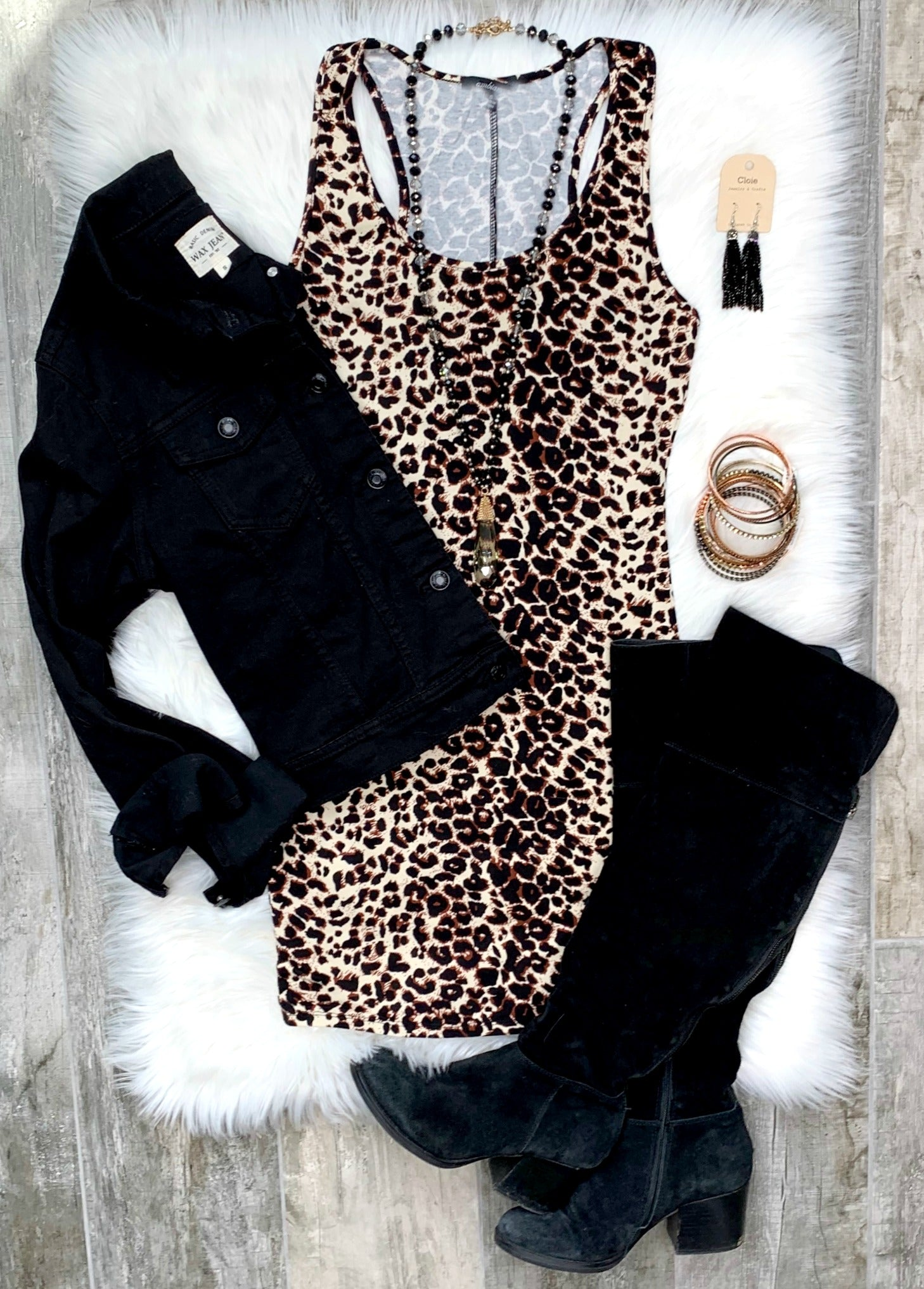 Obsessed with Leopard Dress