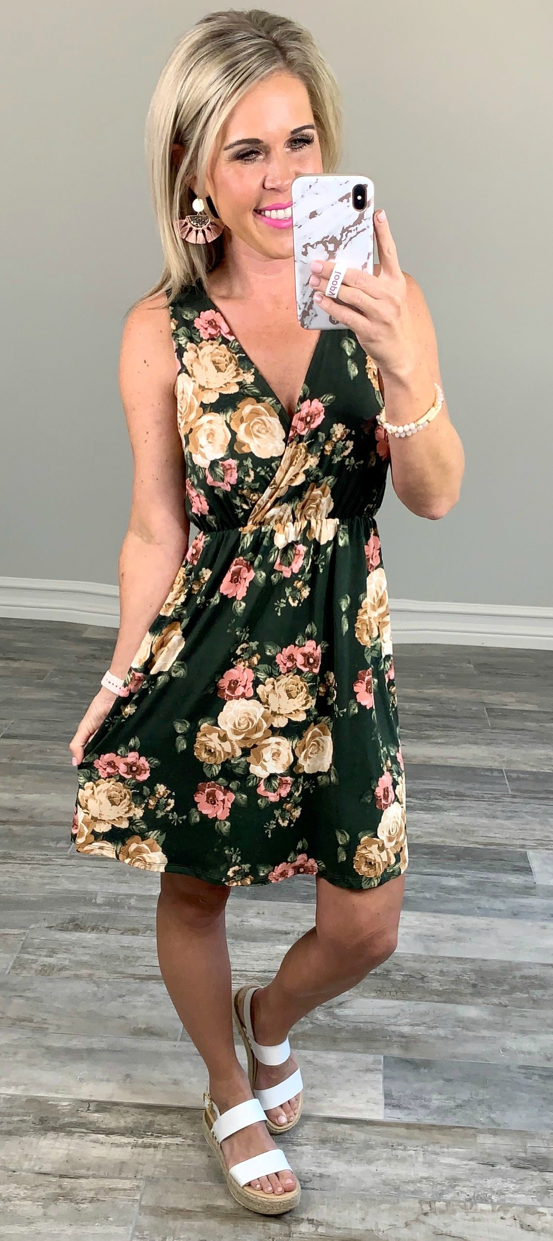 Florals in the Fall Dress