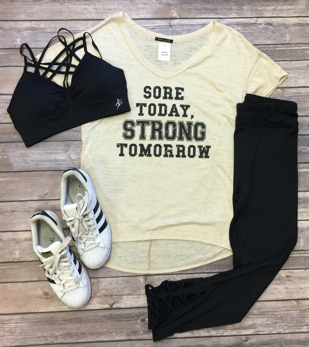 Sore Today. Strong Tomorrow.