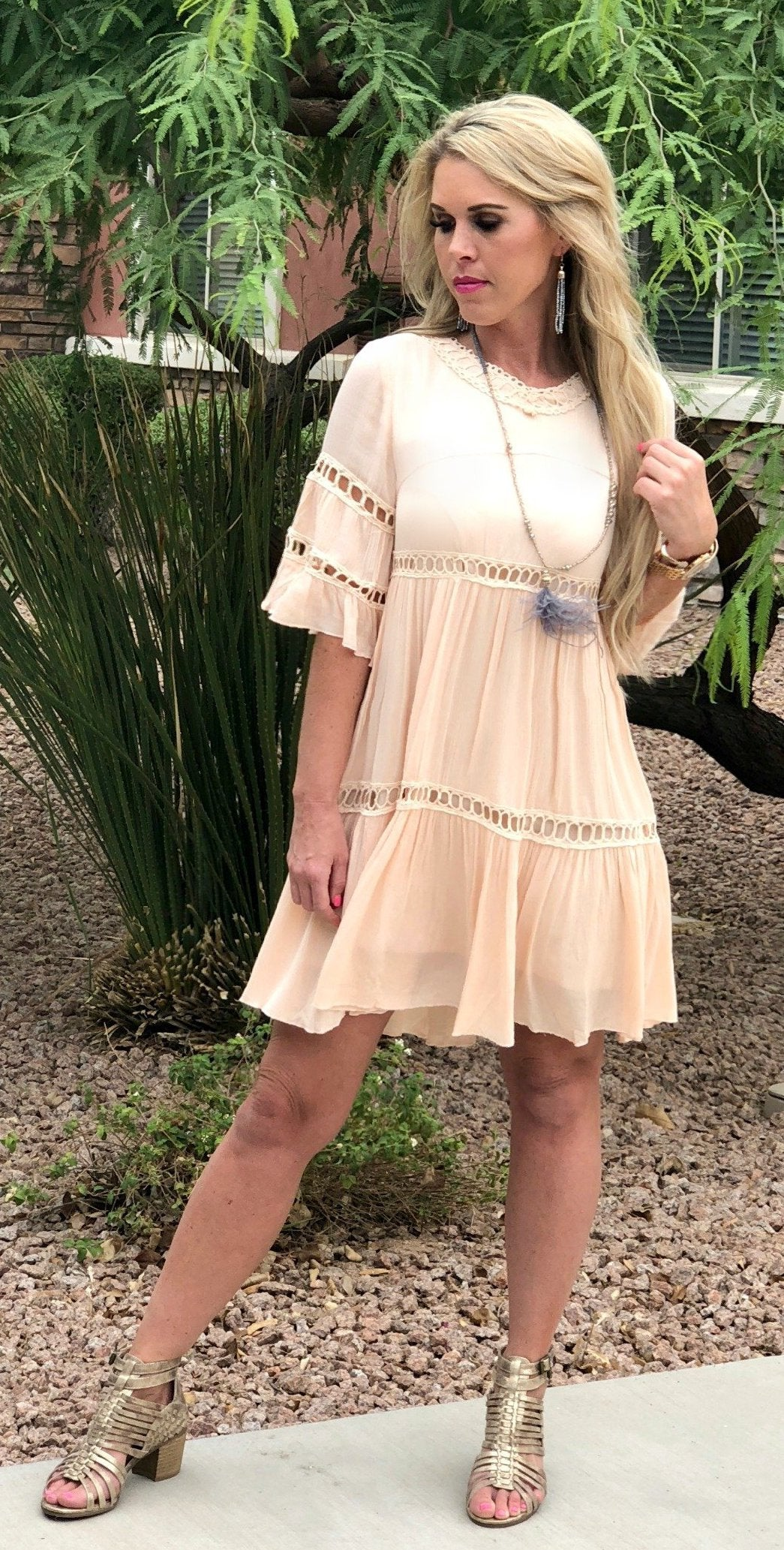 Searching for Love Blush Dress