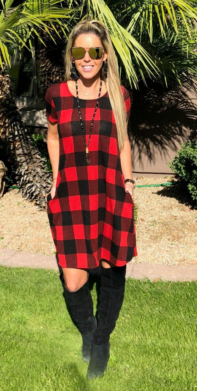 Christmas Feels Pocket Dress