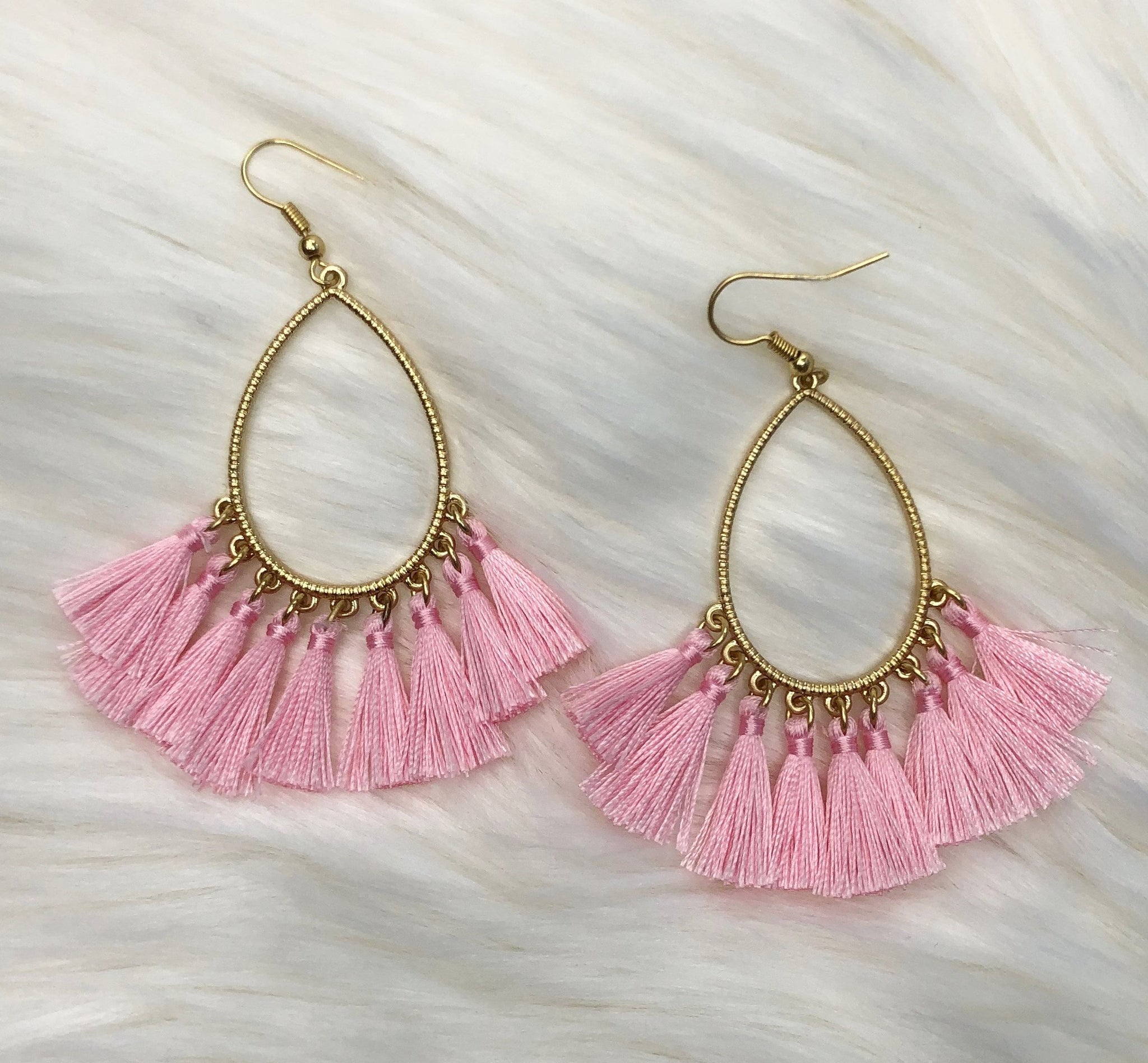 Wanna Talk About it Tassel Earrings