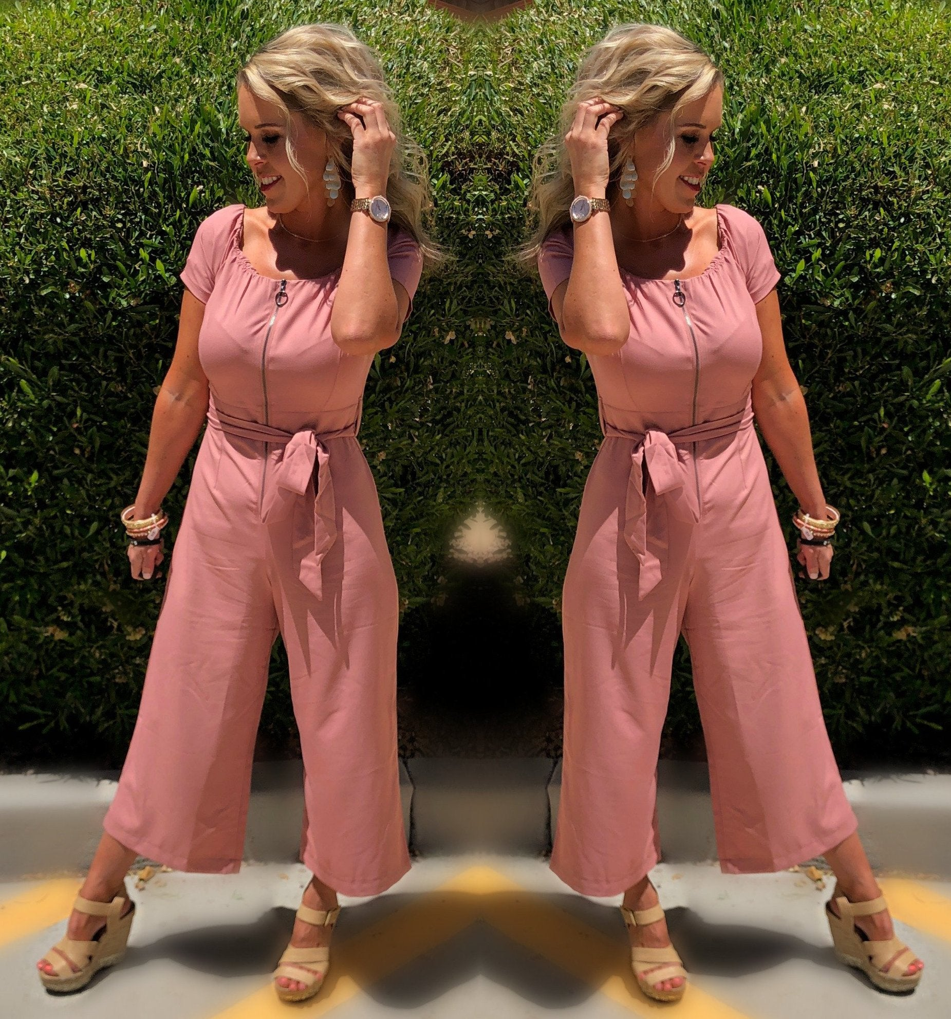 Chic on the Ship Jumpsuit