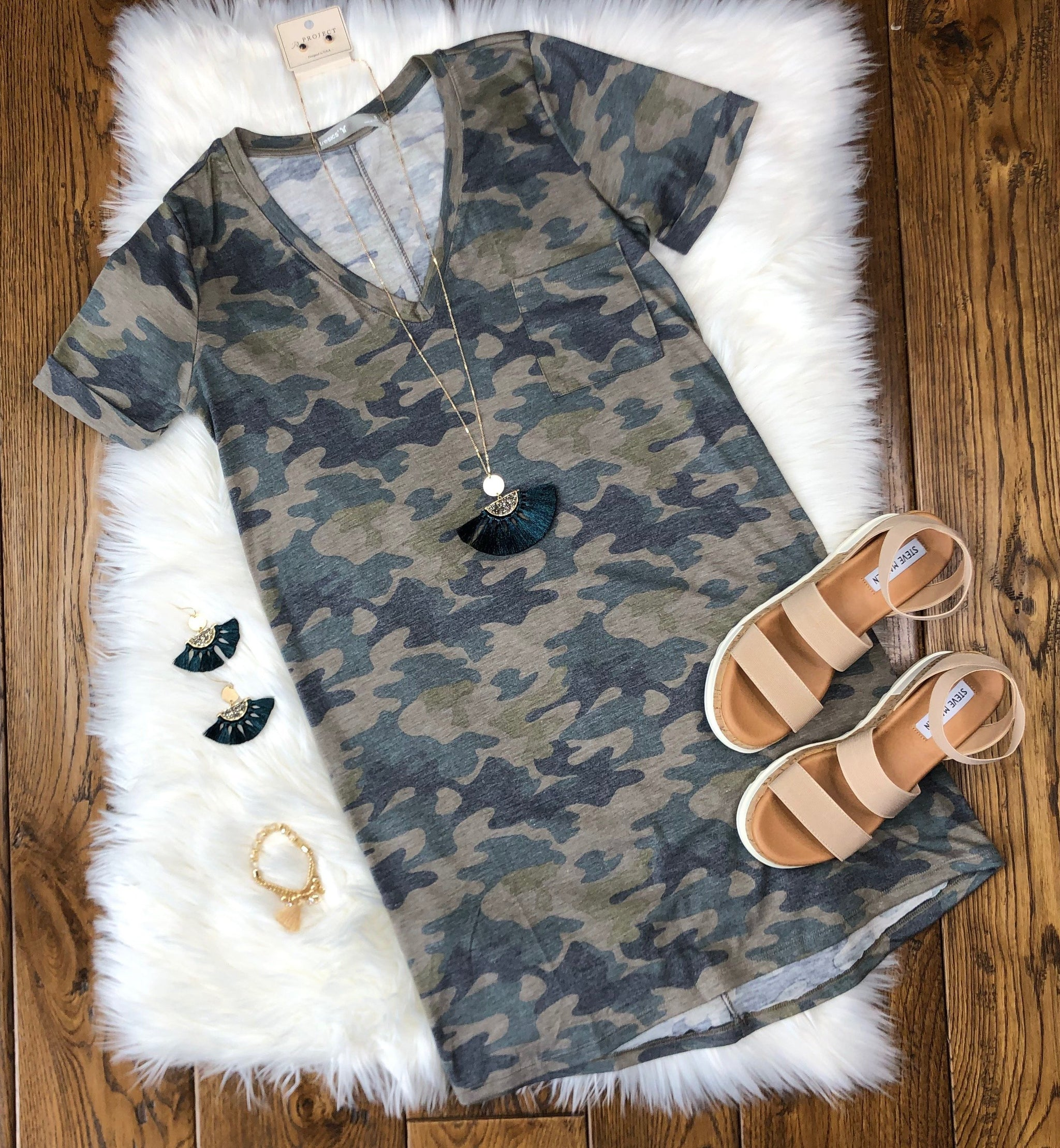 Camo Crush Dress