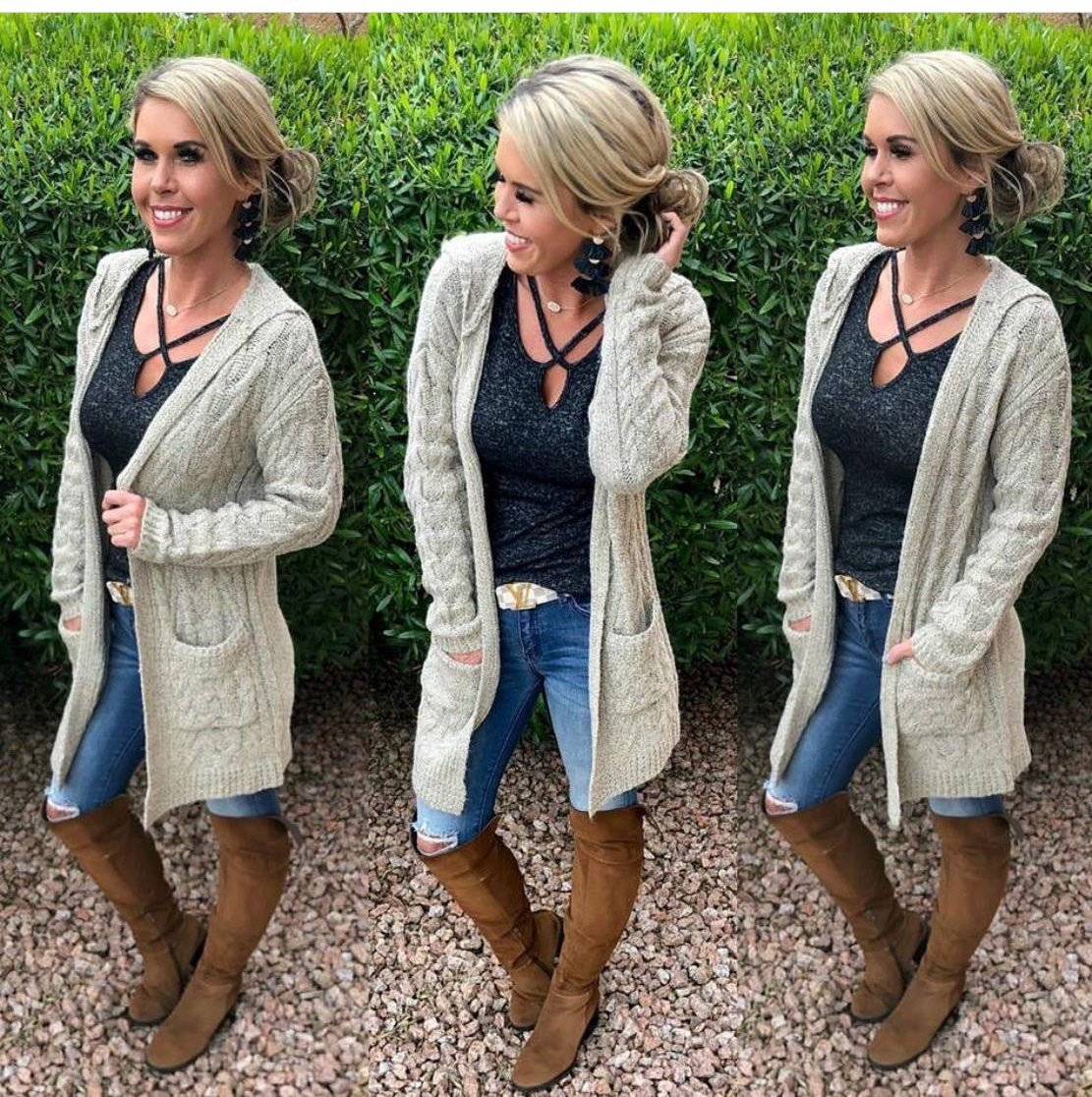 Keep It Cozy Pocket Cardi