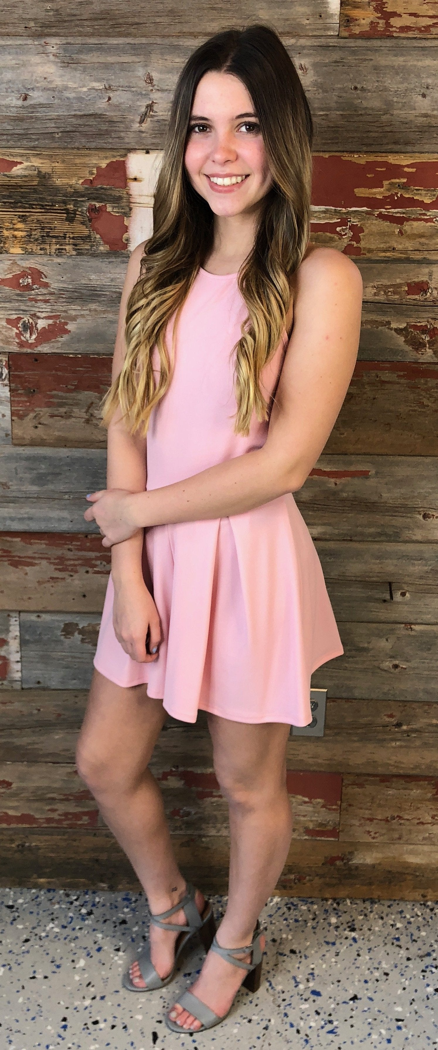 Your New Journey Lace Romper