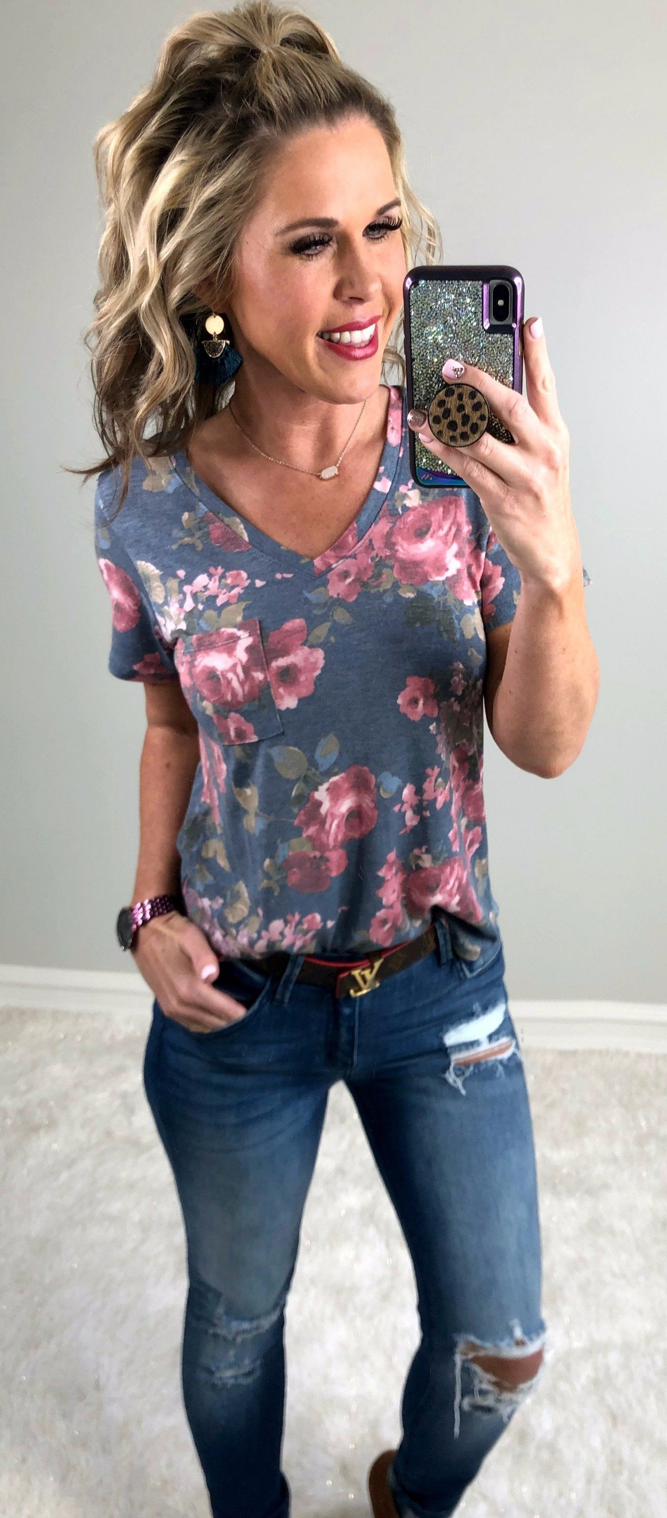 Finding Florals Top