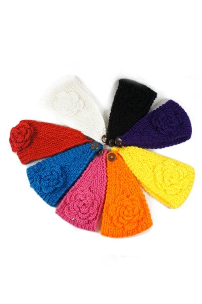 Flower Fun: Headwrap Multiple Colors