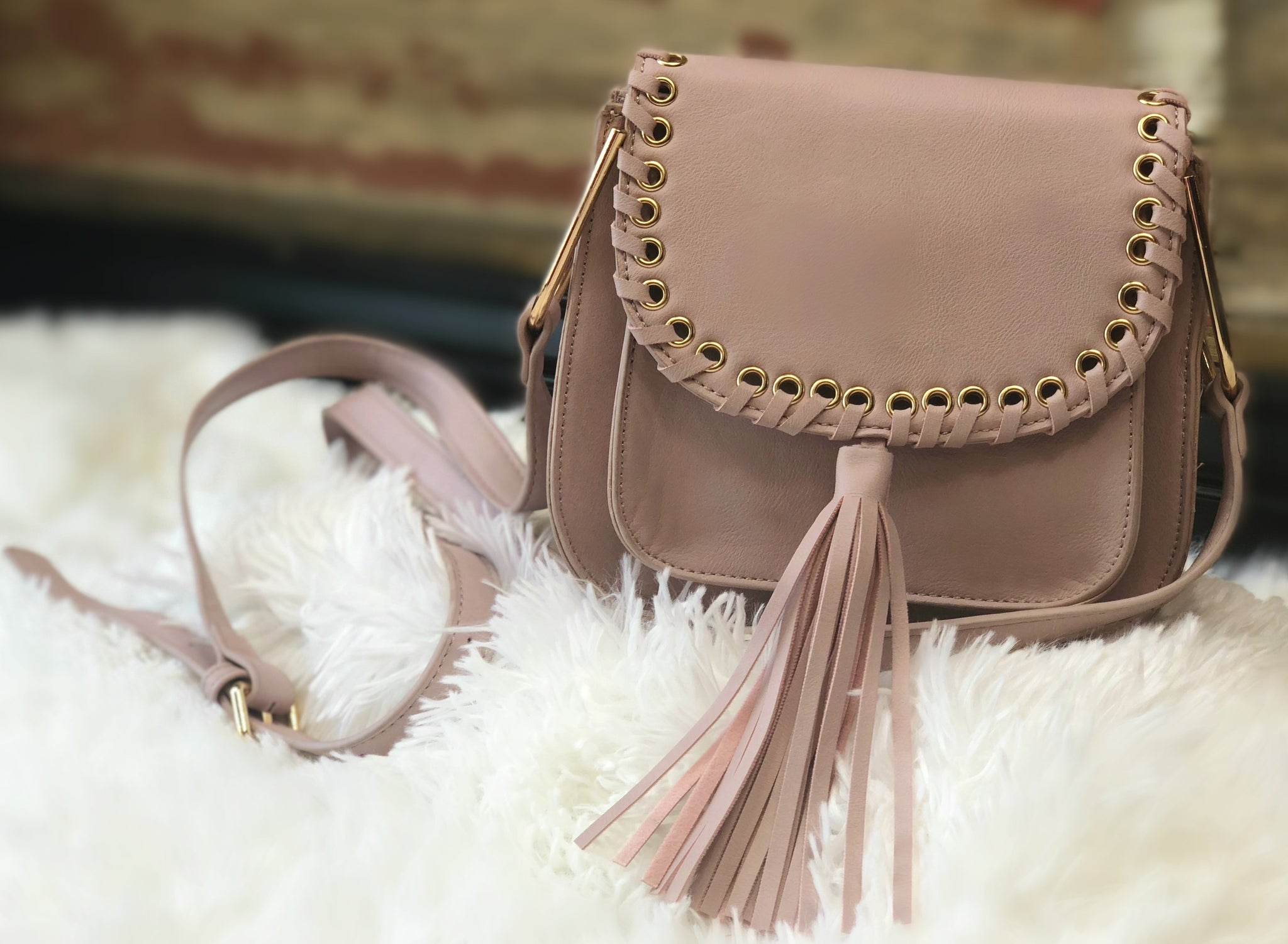 Effortlessly Easy Purse: Rose