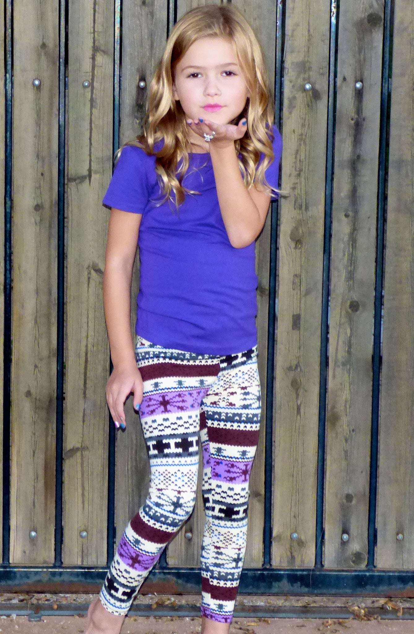 Towin' Snow: Leggings Girls