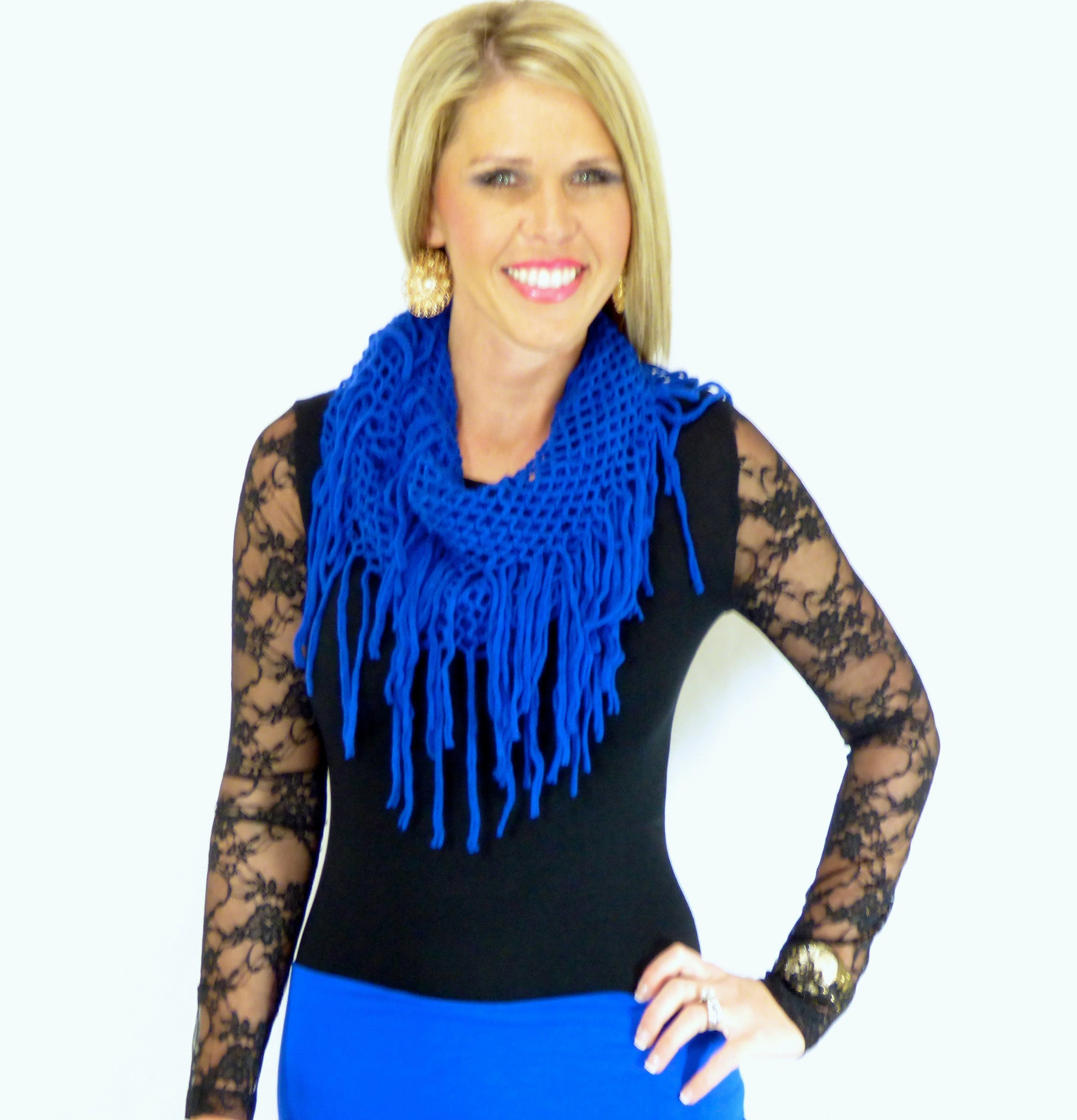 Wherever You Go Infiniti Scarf: Multiple Colors