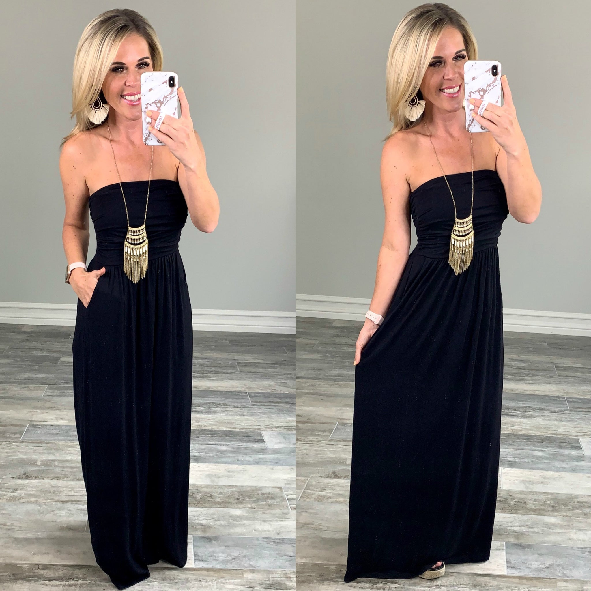 Your so Classic Pocket Maxi Dress