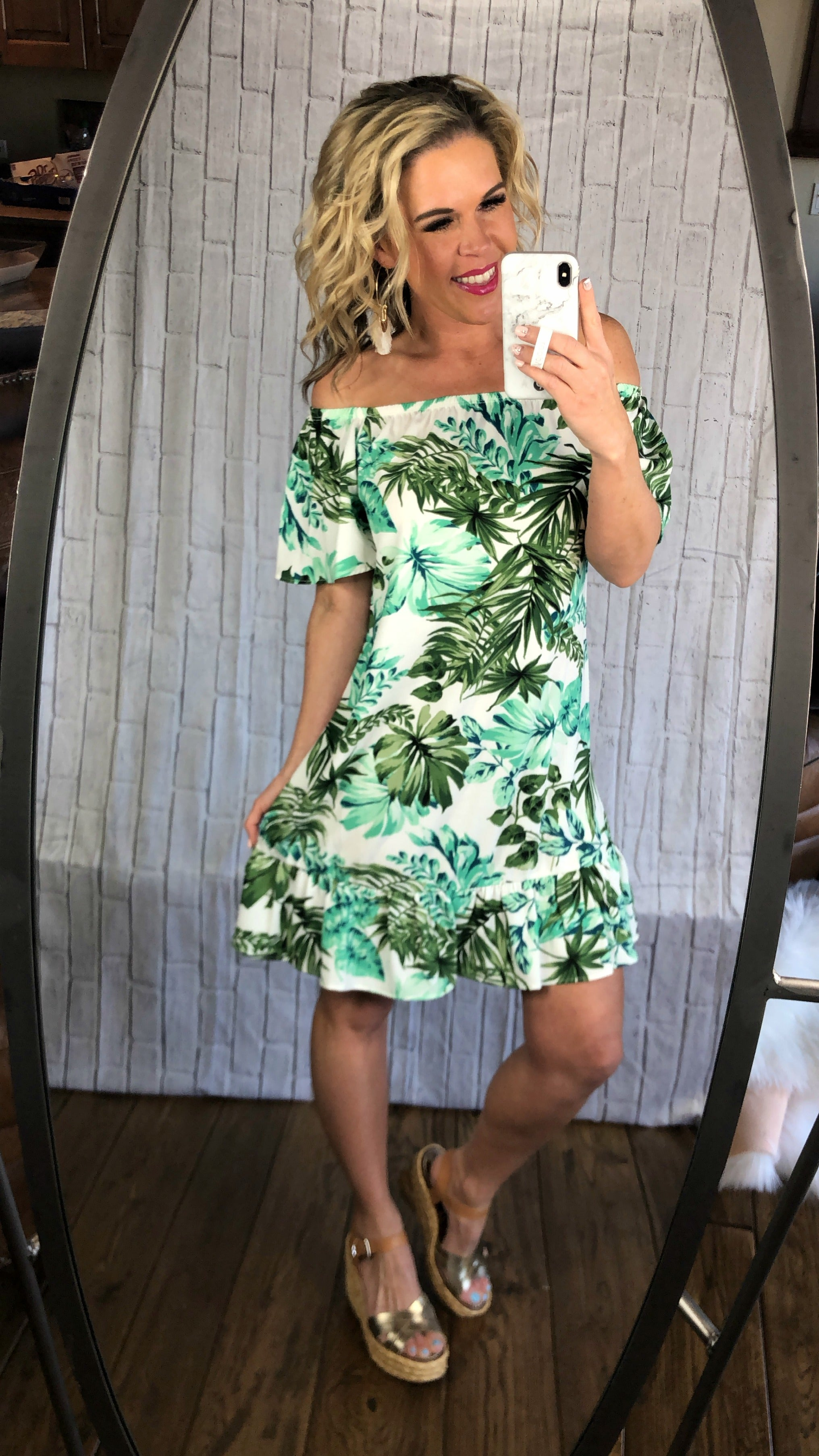 Paradise in the Palms Dress