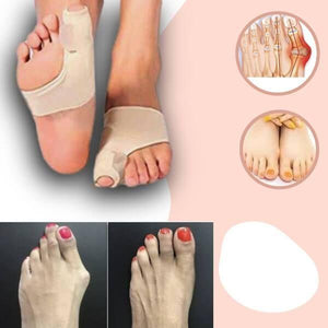 2 PAIRS DR. CARE™ ORTHOPEDIC TOE BUNION CORRECTOR - FREE CASH ON DELIVERY
