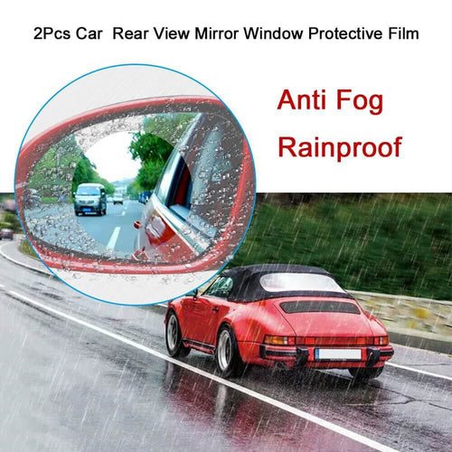 4 Pcs Rearview Mirror Anti Fog Film