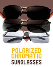 Load image into Gallery viewer, HIGH-END PHOTOCHROMIC POLARIZED SUNGLASSES