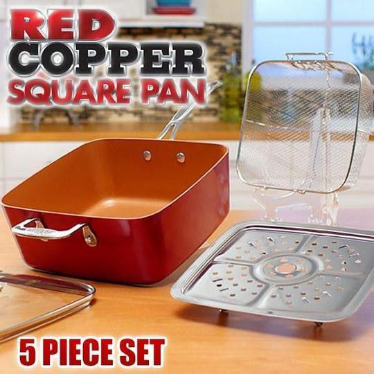 MIGAS 5 IN 1 DEEP DISH PRO SQUARE PAN SET