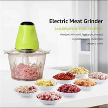 Load image into Gallery viewer, Multi functional Electric Meat and Veggie Processor