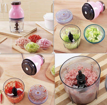 Load image into Gallery viewer, MULTIFUNCTIONAL ELECTRIC CUTTER BLENDER PROCESSOR