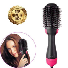 Load image into Gallery viewer, Hair Dryer Brush 2 In 1 Hair Straightener Curler Comb