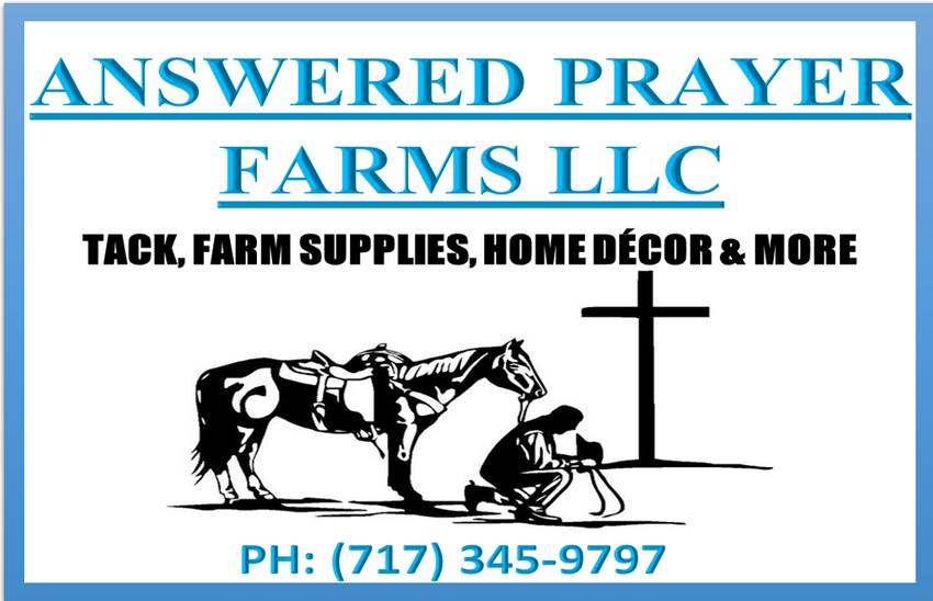 Answered Prayer Farms LLC/Discount Tack Sales