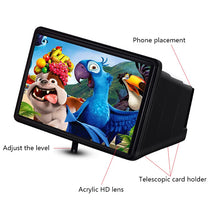 Load image into Gallery viewer, 3D Screen Movie Amplifier Phone Stand For IPhone