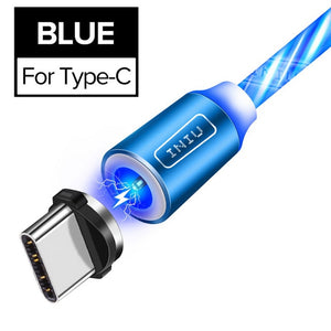 Luminous Lighting Magnetic USB Charger Cable for Phone