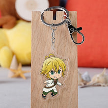Load image into Gallery viewer, The Seven Deadly Sins Keychain