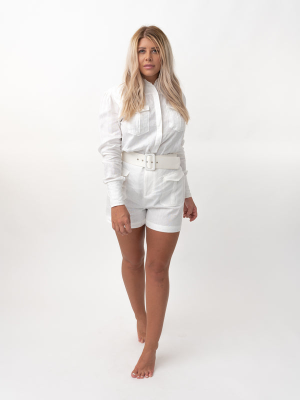 Dzeni White Blouse