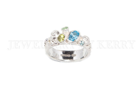Rockpool ring with ovals