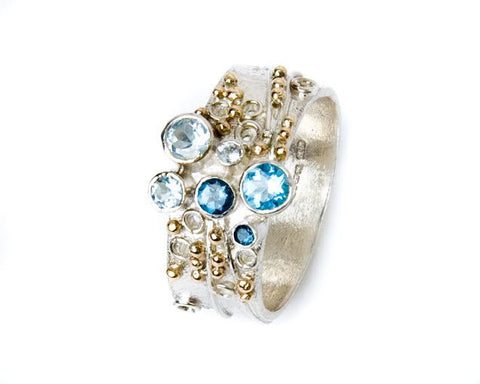 Topaz inspiration ring