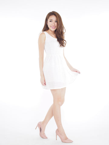 Lorna Dress (White)