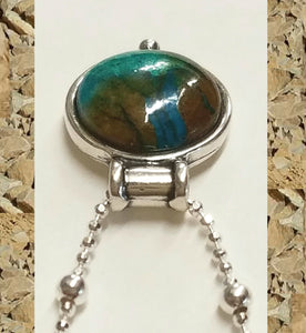 Chrysocolla & Friends Pendant Necklace