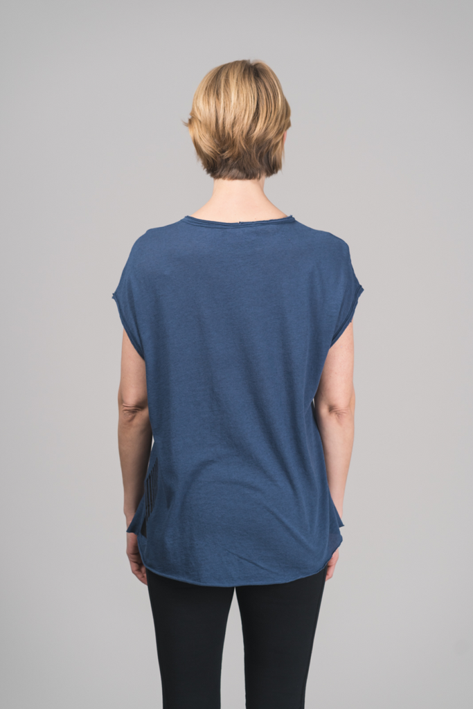 Loose fit T-shirt Cashmere - Gloria soft