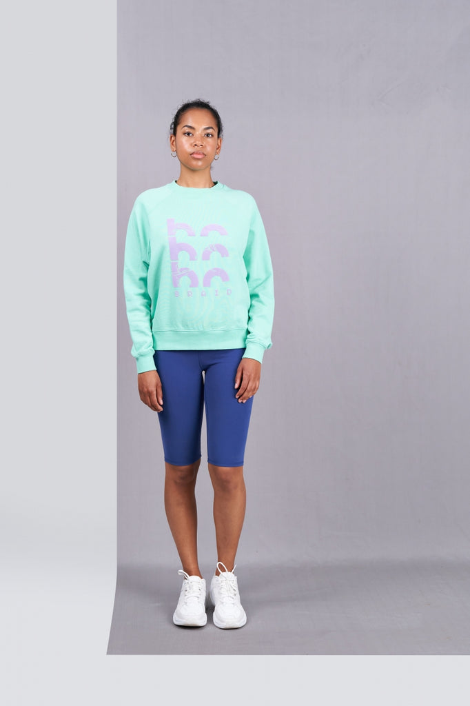 Cotton Loose-fit Sweater - Rosie Graphic Sweat