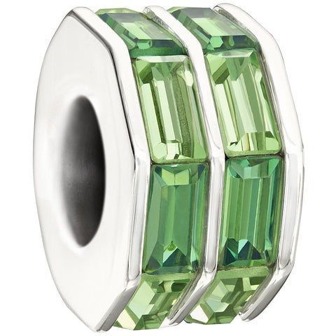 Chamilia Double Baguette - Green 2083-0400