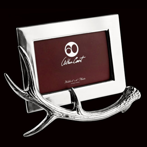 Arthur Court Antler 4x6 Picture Frame